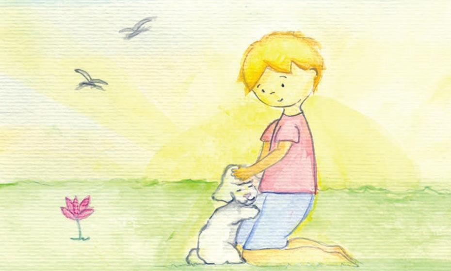 Ilustração do livro 'Pequeno Ruby'