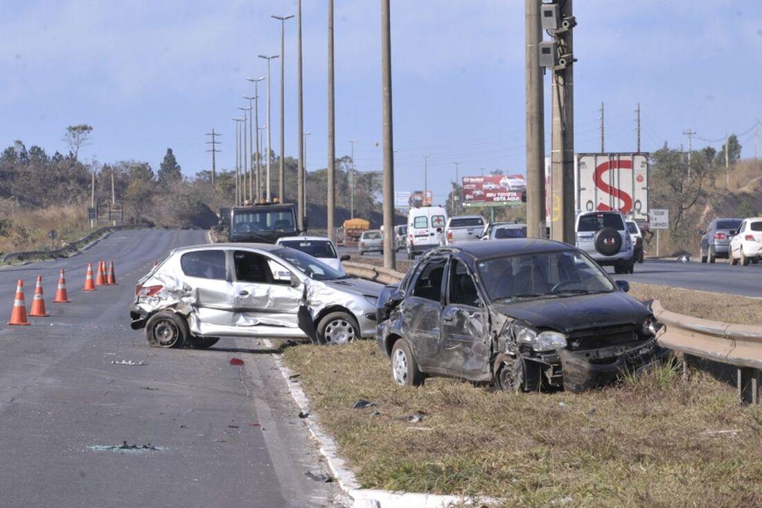 Em 2017 foram registrados mais de 245 mil acidentes de trânsito no Brasil