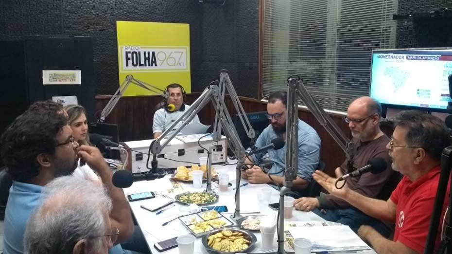 Debate na Rádio Folha comenta primeiros resultados das eleições