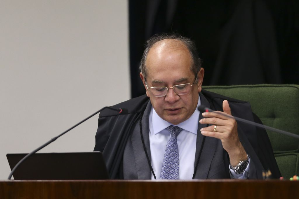 Ministro do STF, Gilmar Mendes.