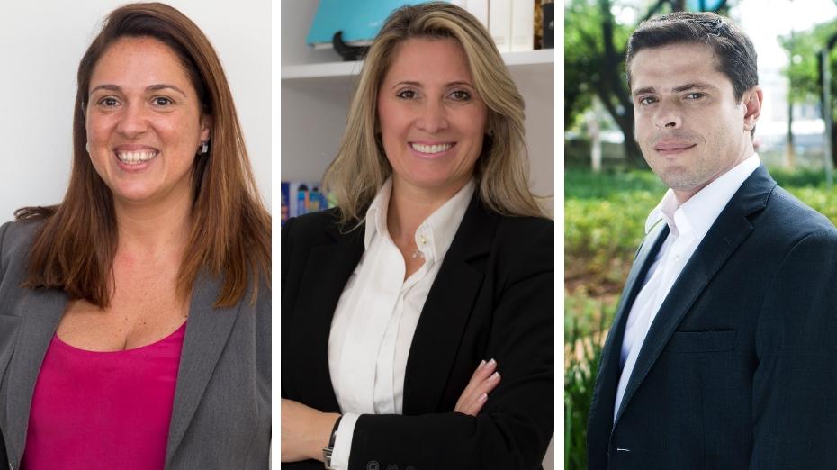 Adriana Carvalho (ONU Mulheres); Geovana Donella (membro da Mulheres do Brasil e WCD – Women Corporate Directors – NYC), e Rodrigo Vianna (Aliança para o Empoderamento da Mulher)