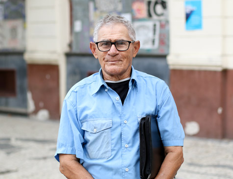 Aposentado Severino Marques, 76 anos