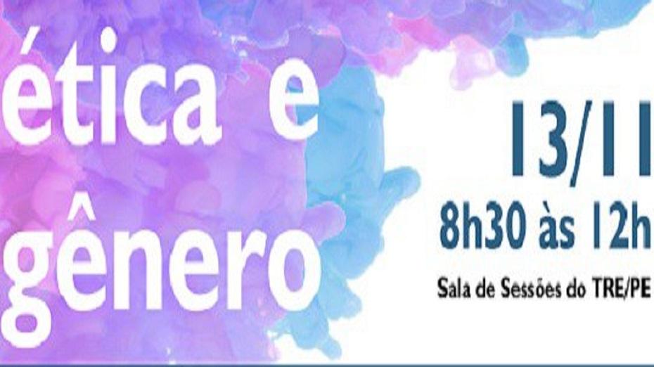 TRE-PE promove palestra gratuita na próxima terça-feira (13)