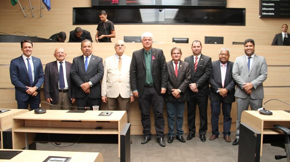 Nova mesa diretora da Câmara do Recife