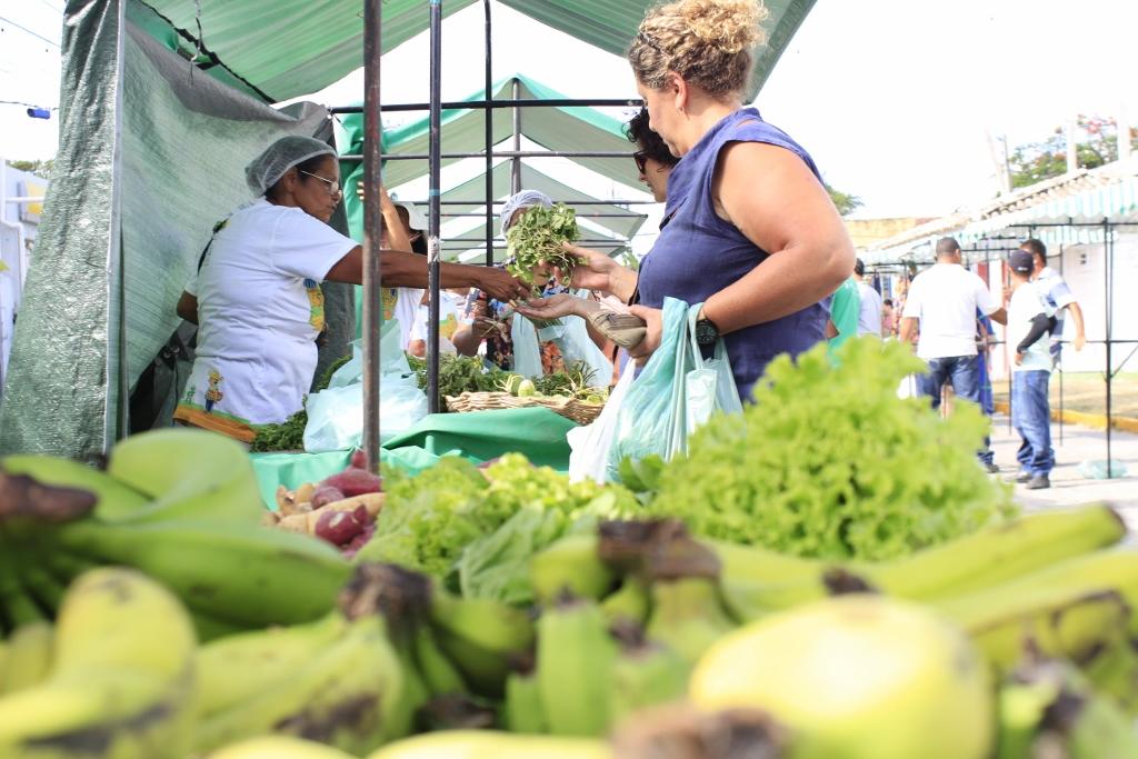 A Feira de Agricultura Familiar é realizada em diversos municípios pernambucanos