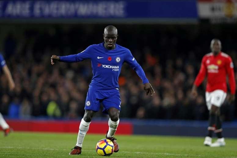 Kanté, volante do Chelsea