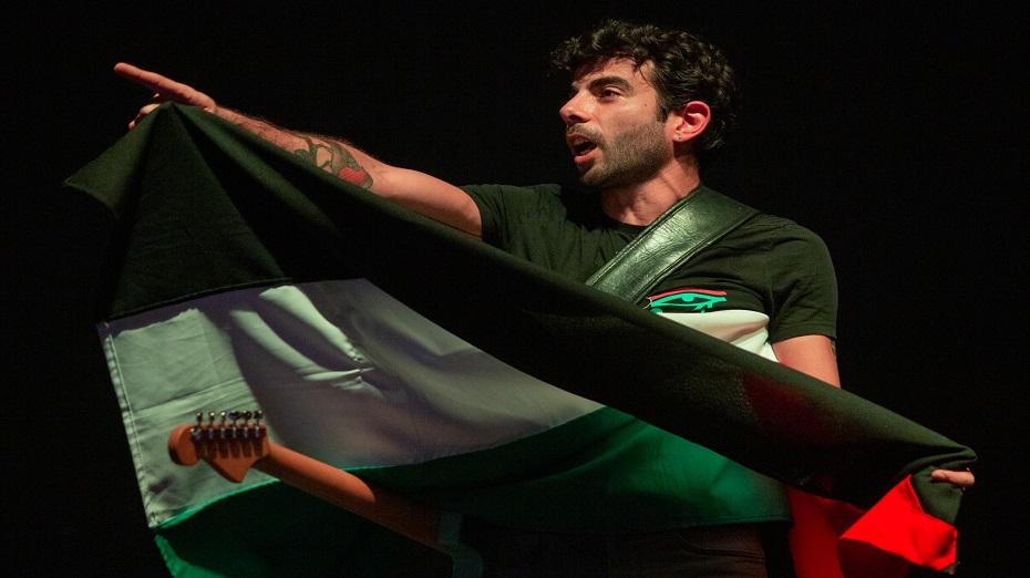 Banda 47Soul é formada por membros da Palestina e Jordânia