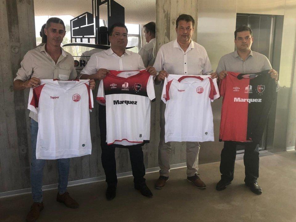 Dirigentes visitaram instalações do Newell's Old Boys