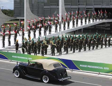 Preparação para posse de Bolsonaro