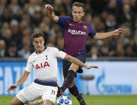 Arthur chegou ao Barça nesta temporada e já vem se consolidando na equipe culé
