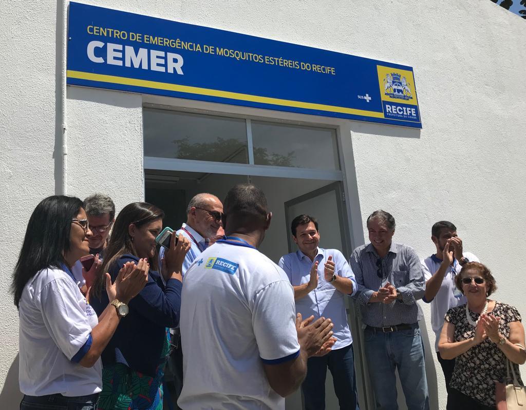 Entrega do Cemer, no Recife
