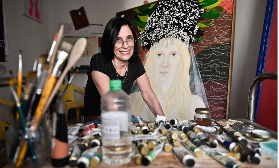 Dayse Pontes, artista plástica