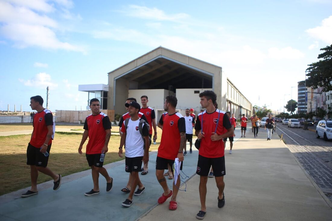 Delegação do Newell's Old Boys