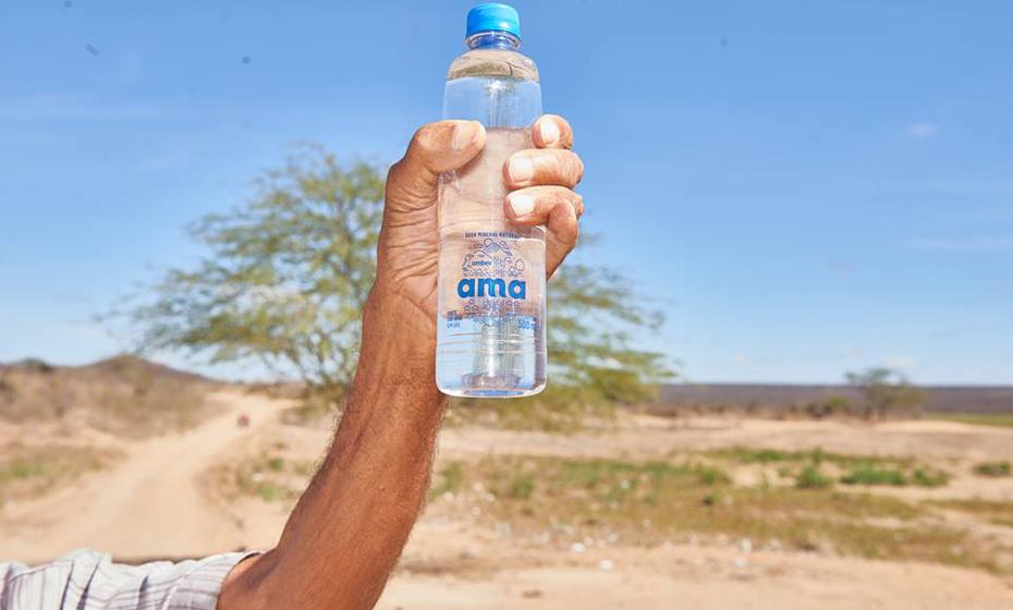 Ambev desenvolveu a Água AMA