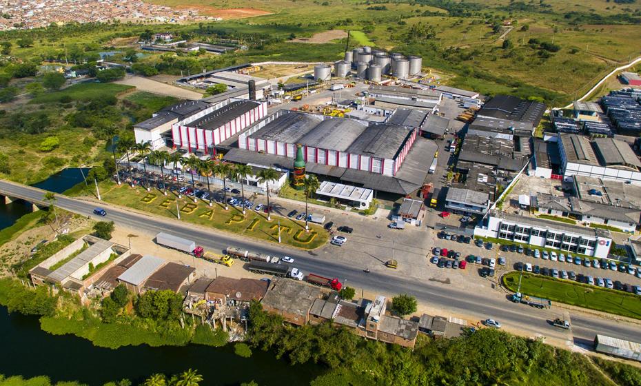 Pitú, indústria de bebidas com fábrica localizada em Vitória de Santo Antão