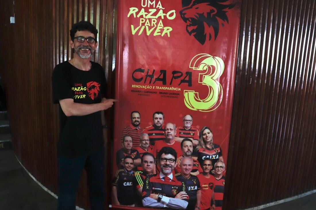 Eduardo Carvalho, candidato à presidência do Sport