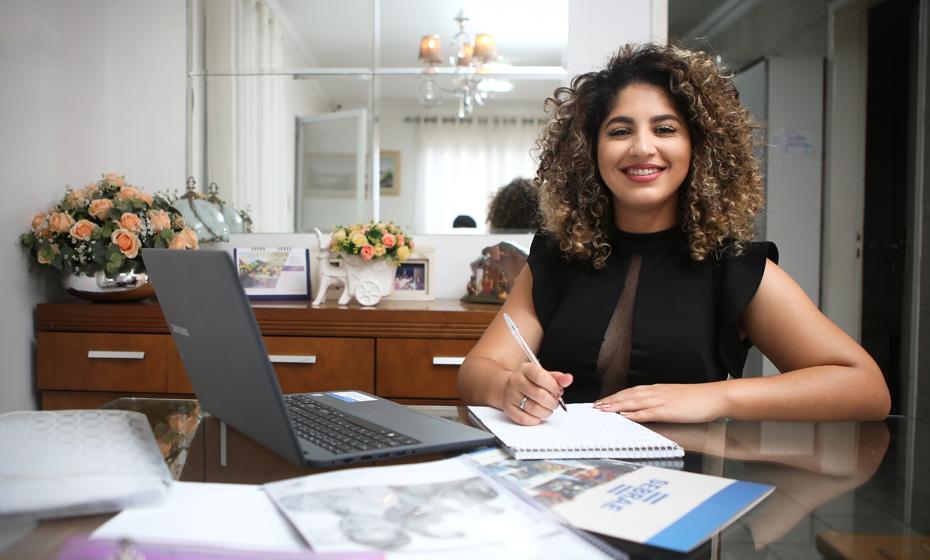 Após estudos, a estudante Danielly Barros decidiu apostar no mercado de moda íntima feminina