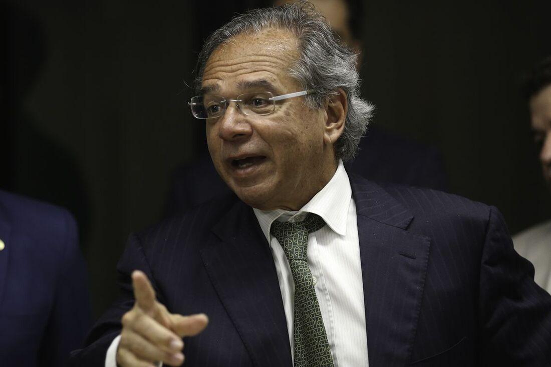 Paulo Guedes, ministro da Economia do governo Bolsonaro