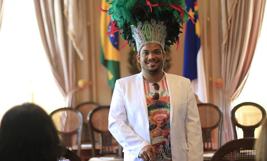 Jefferson Nagô, da Tribo Caboclinhos Carijós