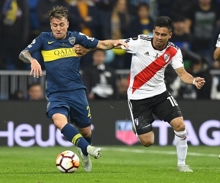 River Plate x Boca Juniors pela final da Libertadores