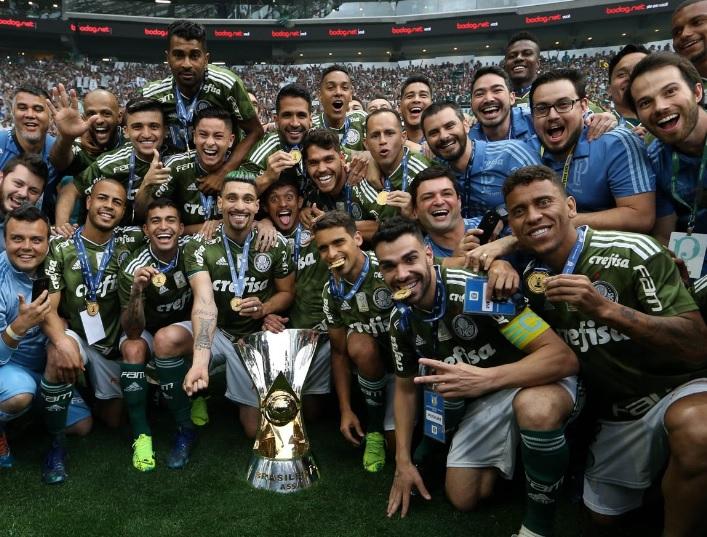 Palmeiras foi o campeão brasileiro de 2018