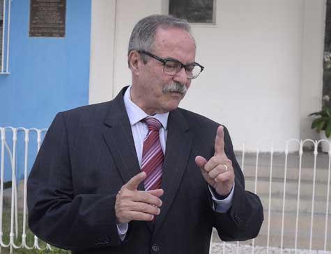 """""""A iniciativa contribui para quebra de um ciclo de violência"""", afirma o secretário de Justiça e Direitos Humanos, Pedro Eurico"""