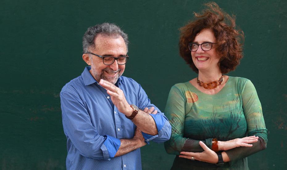 Ronaldo Correia de Brito e Carla Valença apostam na originalidade
