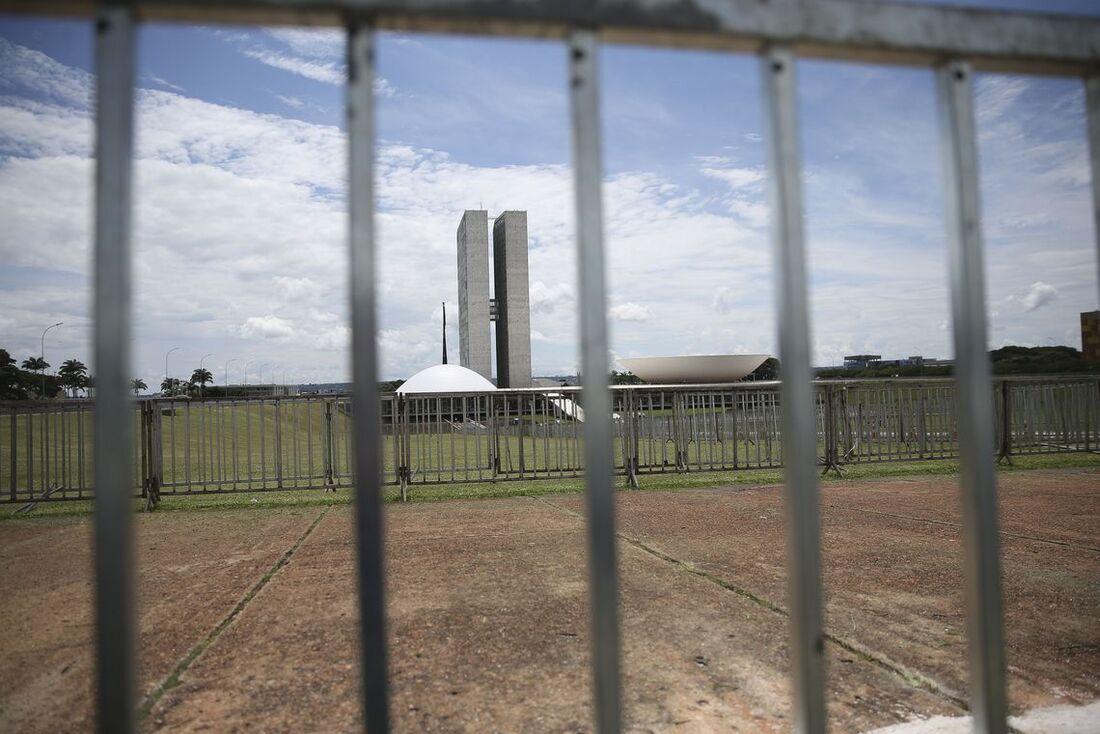 Esquema de segurança reforçado no Congresso Nacional para a posse de Jair Bolsonaro