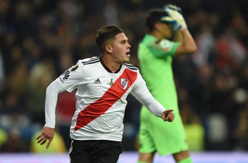 Quintero é um dos grandes destaques deste time do River Plate