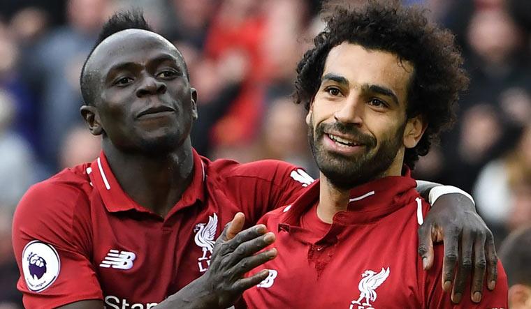 Salah e Mané são dupla de sucesso no Liverpool