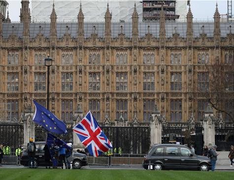 Casas do Parlamento, em Londres