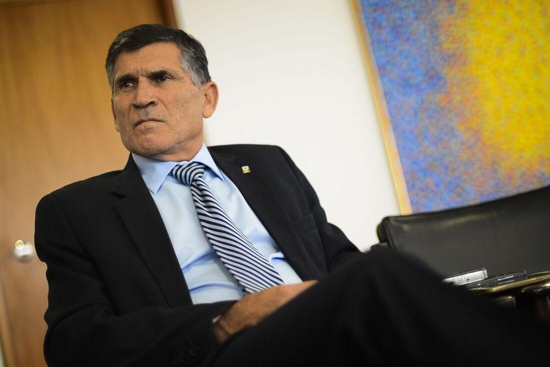 Ministro da Secretaria de Governo (Segov), general Alberto dos Santos Cruz