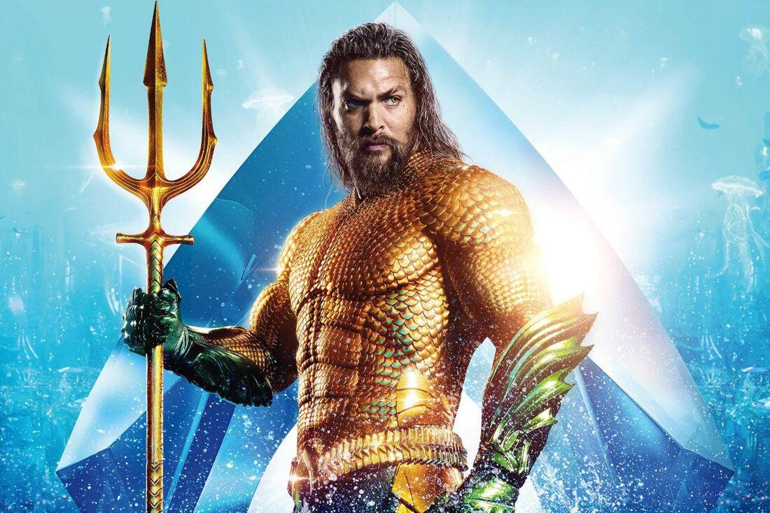 Jason Mamoa estrela o filme 'Aquaman', maior sucesso da história da DC nos cinemas