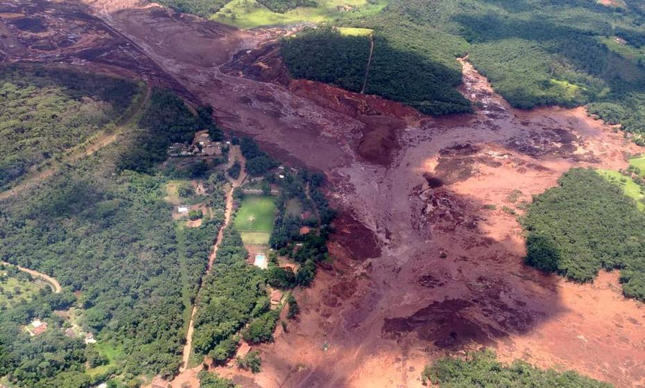 Três anos após acidente em Mariana, mais uma barragem da Vale do Rio Doce rompeu na manhã desta sexta-feira (25)