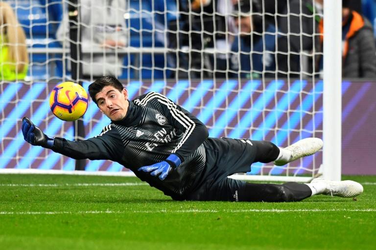 Thibaut Courtois, goleiro do Real Madrid