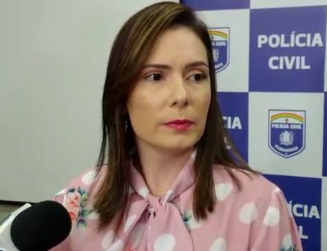 Delegada Patrícia Domingos, responsável pela Operação Primus