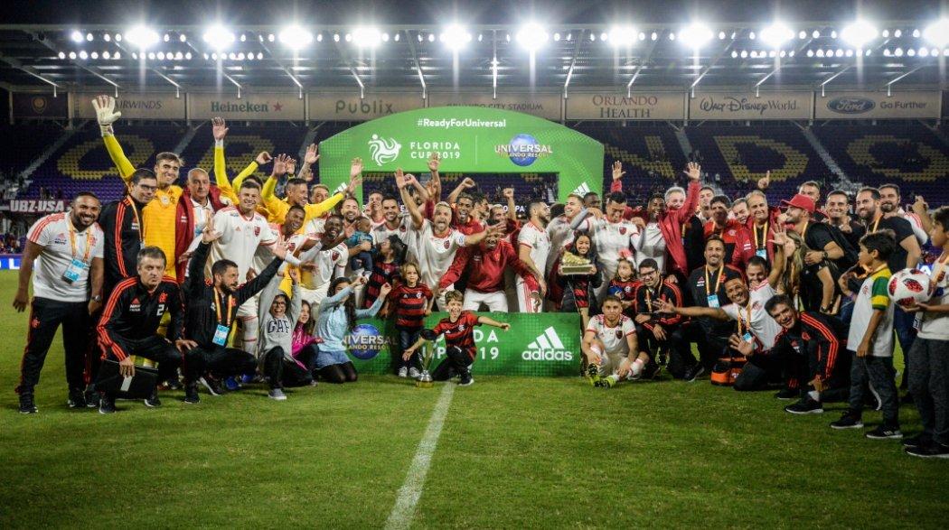 Flamengo foi o campeão da Florida Cup