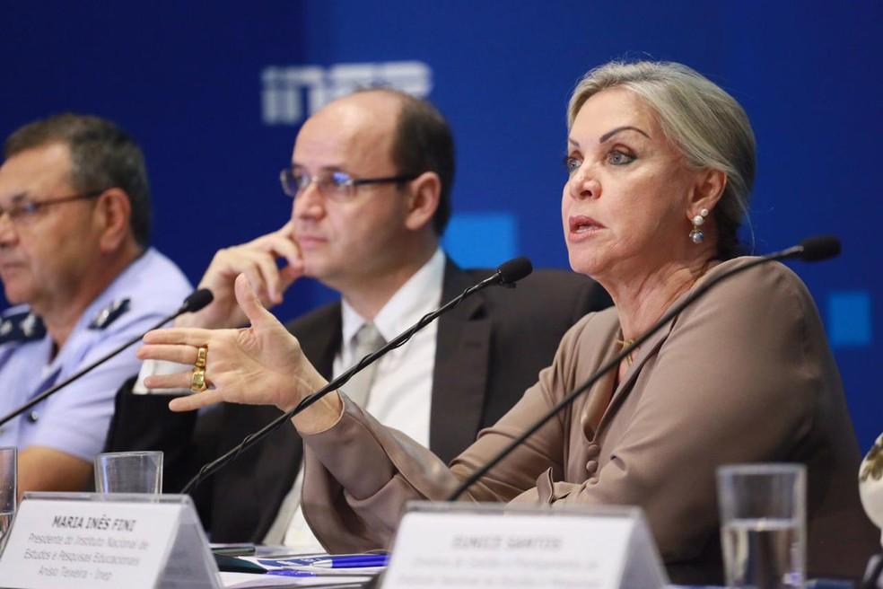 Maria Inês Fini foi exonerada da presidência do Inep