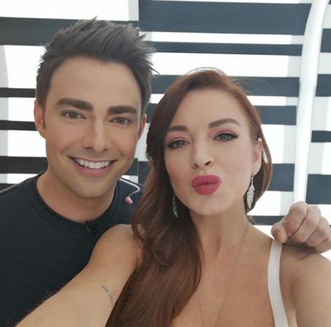 Lindsay Lohan e Jonathan Bennett