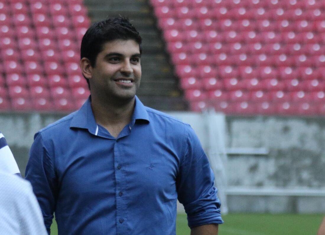 Lucas Drubscky, executivo de futebol do Sport.
