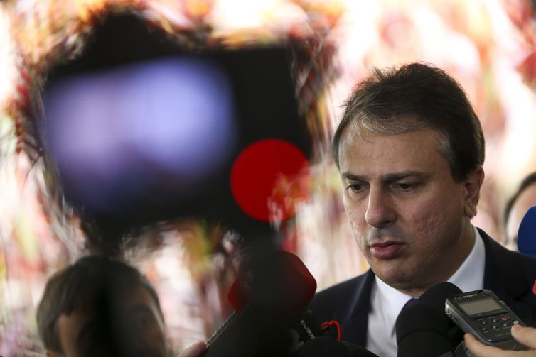 O governador do Ceará, Camilo Santana