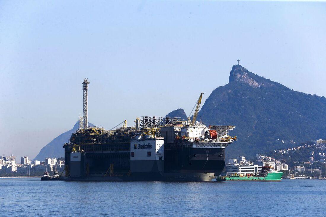 Base de extração de petróleo da Petrobras