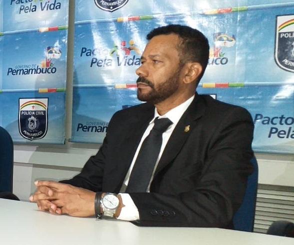 Titular da DP de Machados, delegado Von Romel