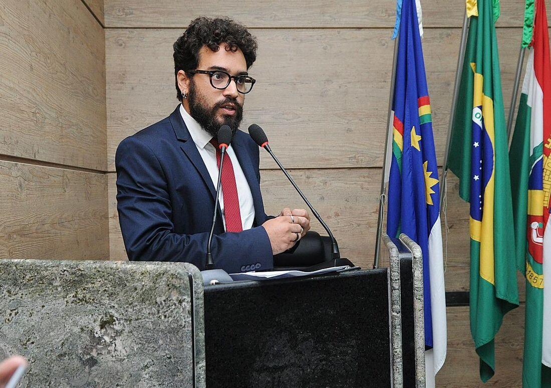 O vereador Daniel Finizola (PT) é o líder da oposição na Câmara Municipal de Caruaru