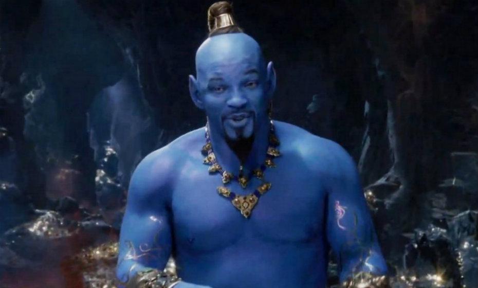 """Will Smith aparece como o personagem Gênio no trailer do filme """"Aladdin"""""""