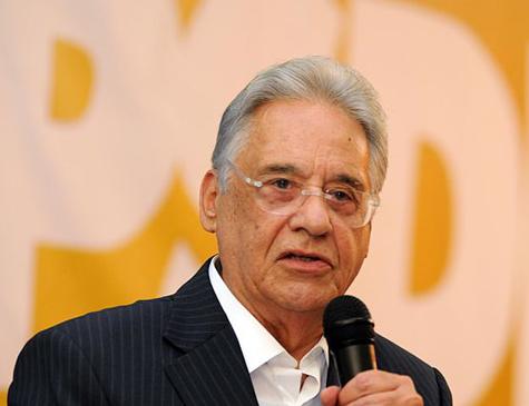 Ex-presidente Fernando Henrique Cardoso (PSDB)