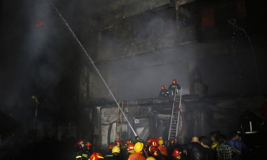 Incêndio em Bangladesh