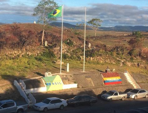 Fronteira Brasil e Venezuela