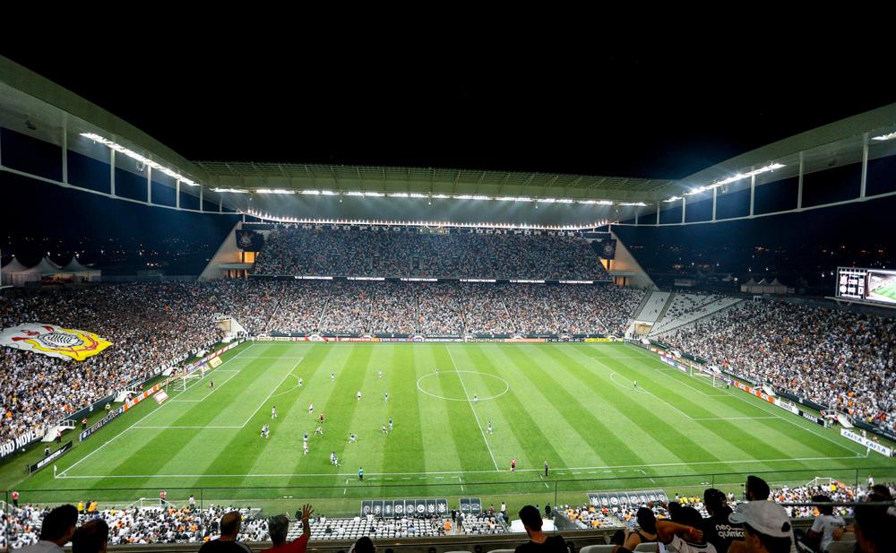 Arena Corinthians, em Itaquera, São Paulo