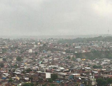 Chuva no Morro da Conceição